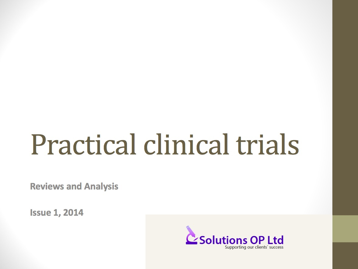 Download free magazine: Practical Clinical Trials – reviews and analysis